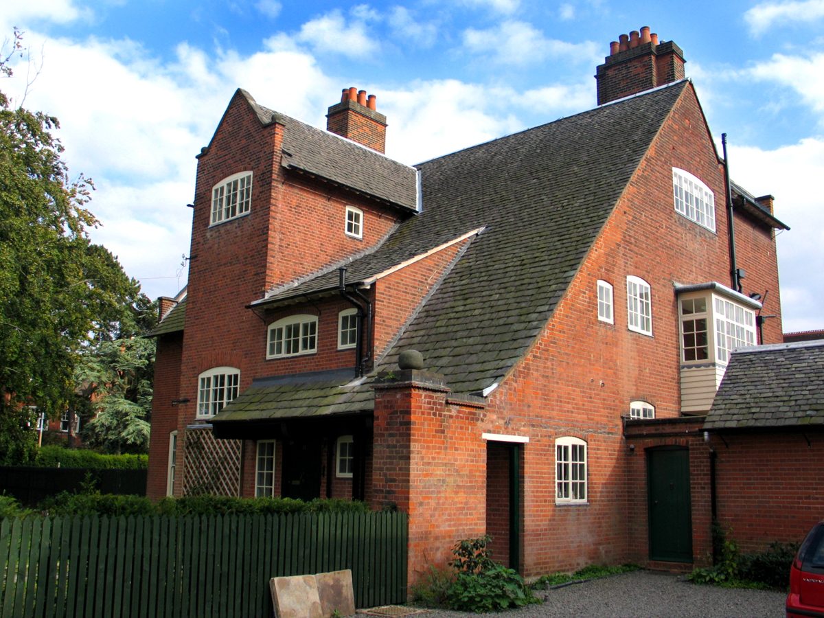 Inglewood in Leicester, designed by Gimson