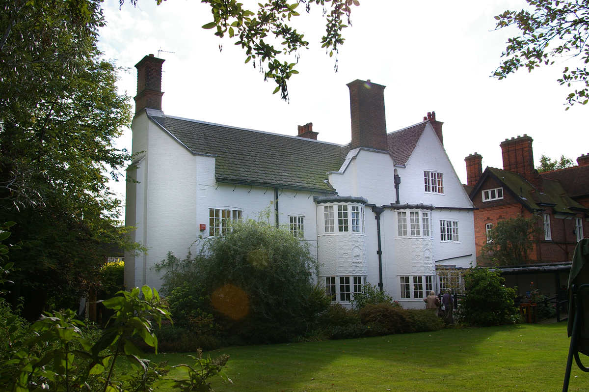 The Whitehouse in Leicester, designed by Gimson