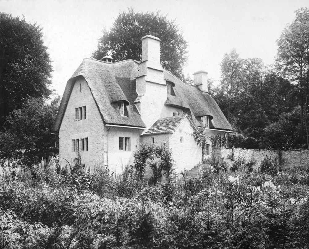 The cottage in Sapperton