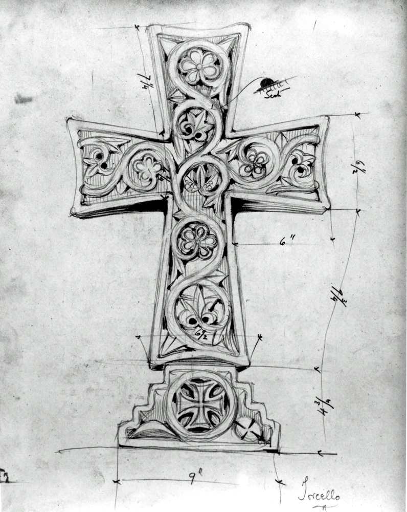 Torcello Cross sketch