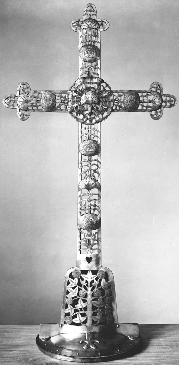 A cross designed by Gimson