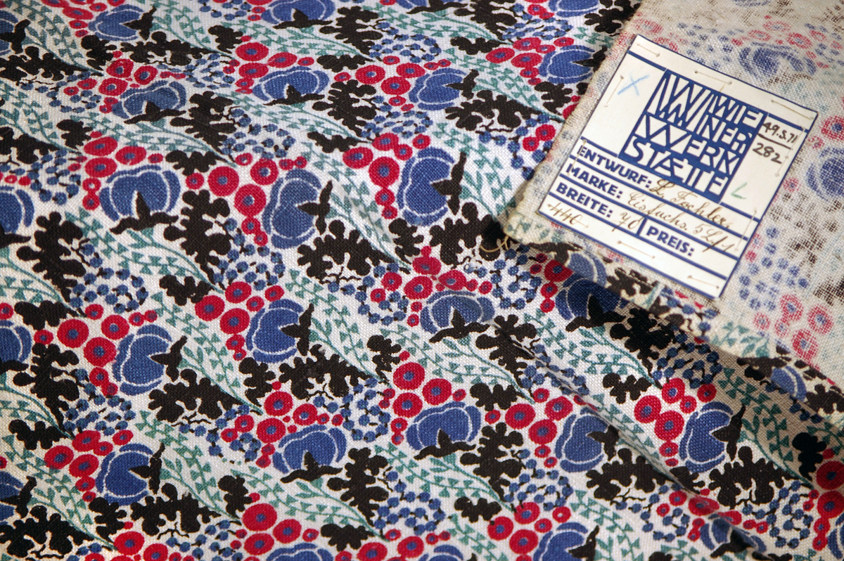 Austrian printed fabric from Leicester Museum's Dryad Craftwork Collection