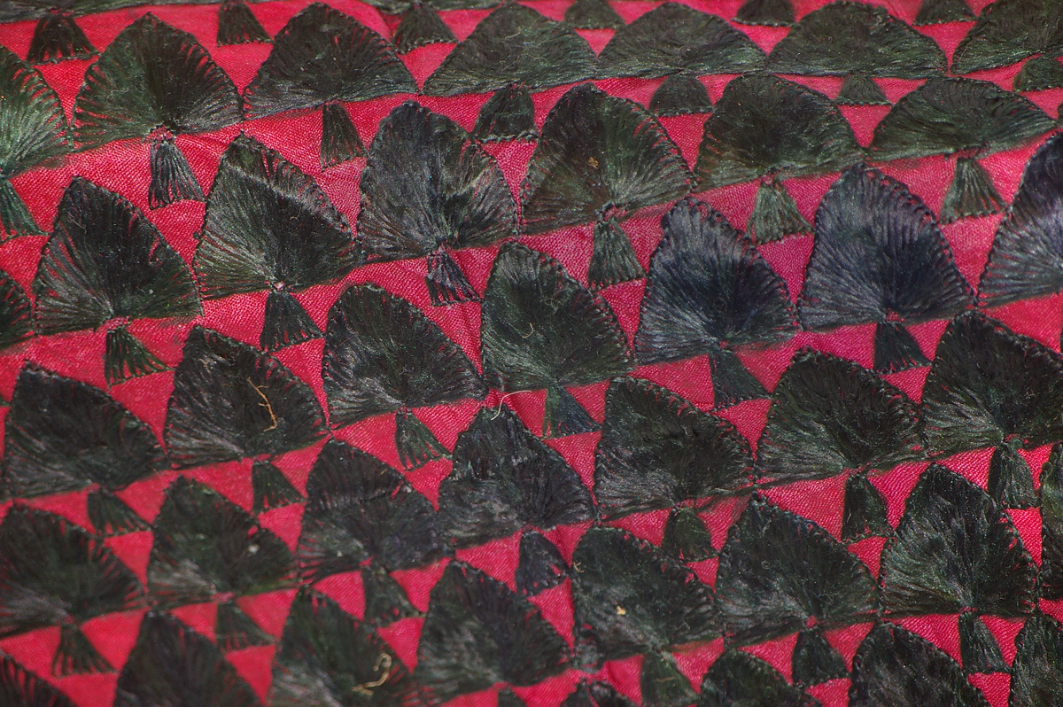 Embroidered fabric ernest gimson and the arts