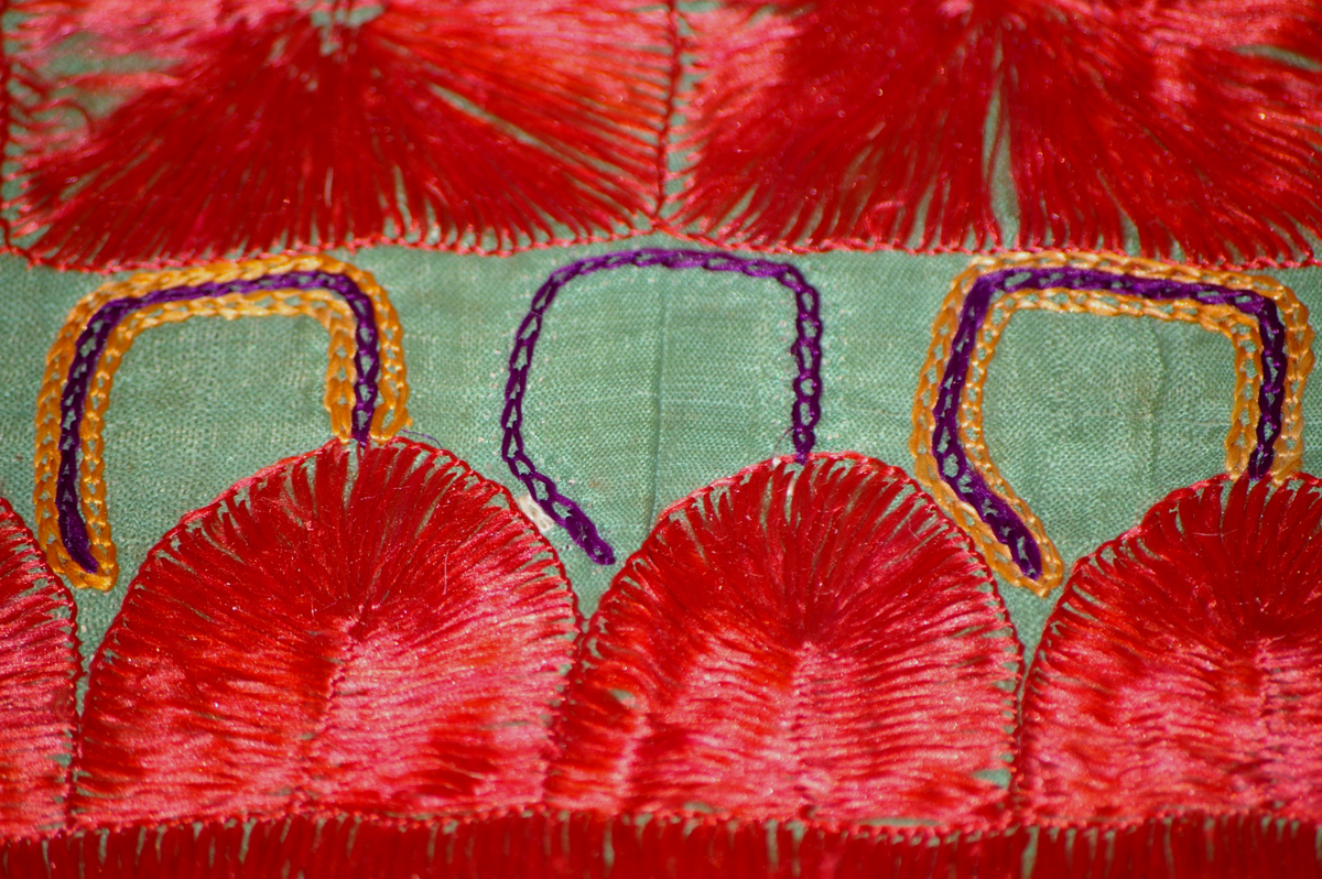 Embroidered hat ernest gimson and the arts crafts