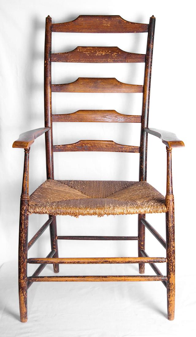 5 Rung Ladderback Chair By Clissett Ernest Gimson And