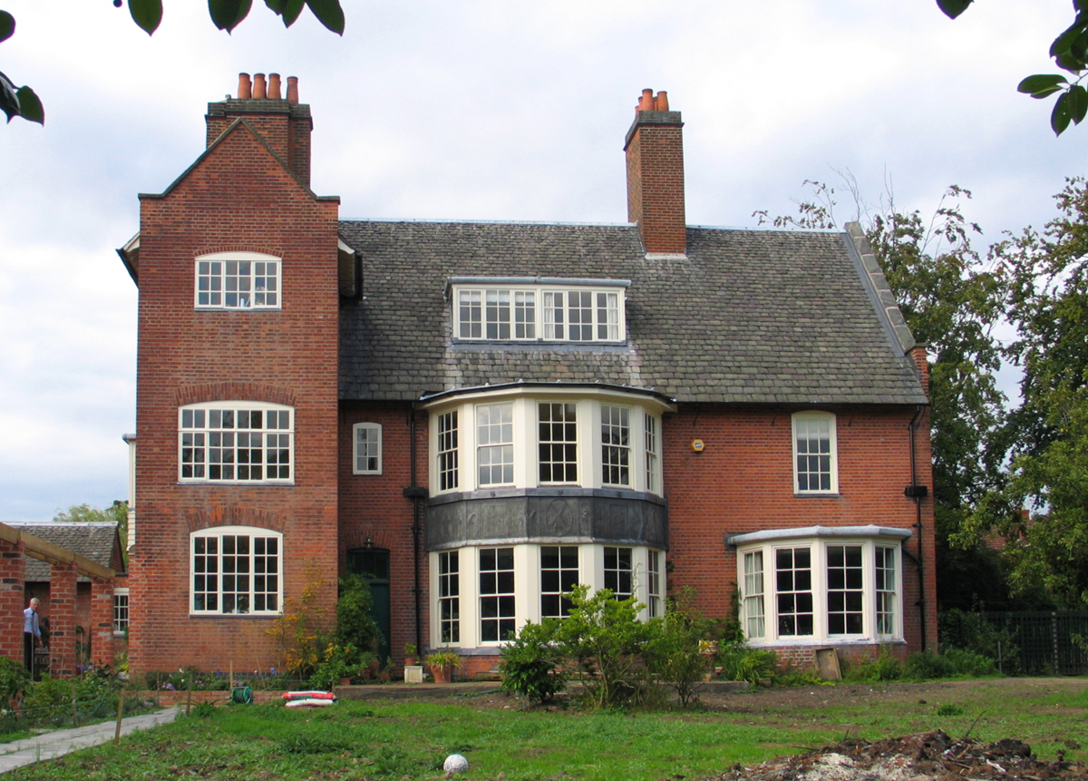 houses in leicester ernest gimson and the arts crafts movement in leicester. Black Bedroom Furniture Sets. Home Design Ideas