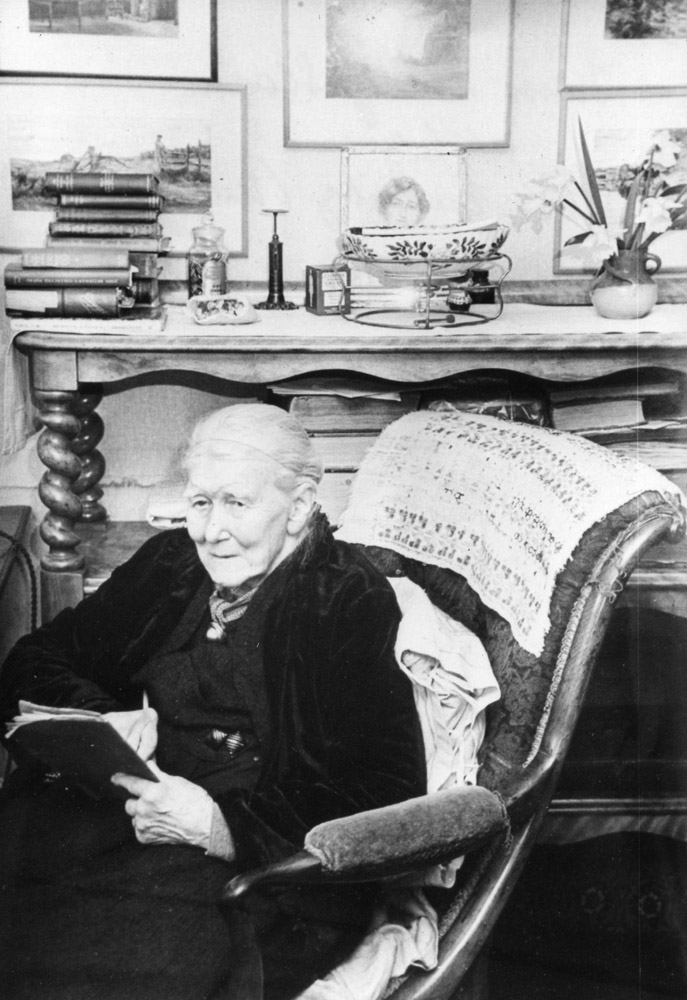 Photograph of Mary in old age, c. late 1950s. Private collection.